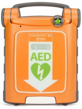 G5 AED Automated defibrillator